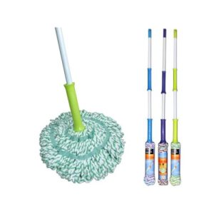 Bulk Buys Twist Floor Mop, 1/Pack (KOLE-OB371)