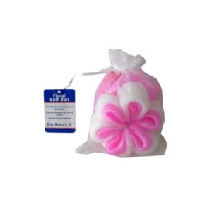 Bulk Buys Floral-Shaped Bath Scrubber, 24/Pack (KOLE-UU395)