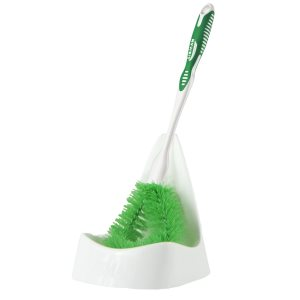 Libman 027 Angle Bowl Brush & Holder Sets, 4 Complete Sets (LIB-00027)