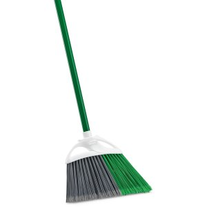"Libman Precision Angle Broom, 10"" Wide Head, 6 Brooms (LIB-00201)"