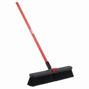 "Libman 18"" Smooth Surface Push Broom, 4 Brooms (LIB-00800)"