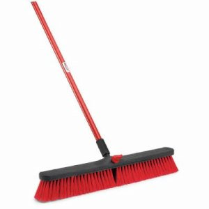 "Libman 805 Multi-Surface 24"" Push Broom, 4 Complete Brooms (LIB-00805)"