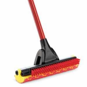 Libman Roller Mop with Scrub Brush, 4 Complete Mops (LIB-00955)
