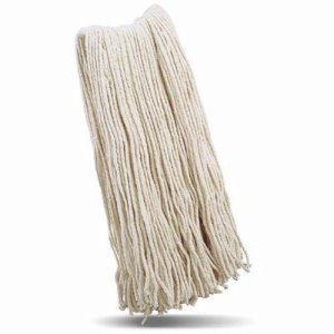 Libman 976 Cut-End #32 Cotton Wet Mop Head, 6 Mop Heads (LIB-00976)