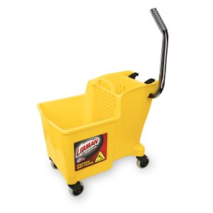 Libman One-Piece Bucket & Wringer, Yellow (LIB-01095)