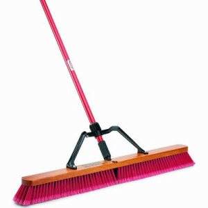 "Libman 1101 Multi-Surface 36"" Heavy Duty Push Broom, 3 Brooms (LIB-01101)"