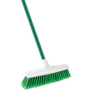 Libman Smooth Sweep Household Push Broom, 4 Brooms (LIB-01140)