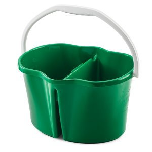 Libman 4 Gallon Clean & Rinse Bucket, 3 Green, Buckets (LIB-02113)