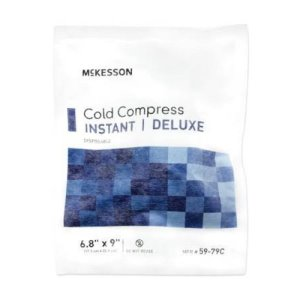 McKesson Deluxe Instant Cold Pack, Soft Cloth, Large, 1/EA (521483_EA)