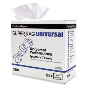 Pro-Series 93114 Super Rag Universal Performance Towels, 6 Boxes (MDI-93114)