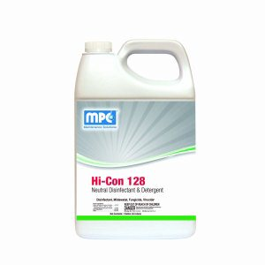 HI-CON 128 Neutral Disinfectant & Detergent, 1 Gallon Containers, 4 per case (128-14MN)
