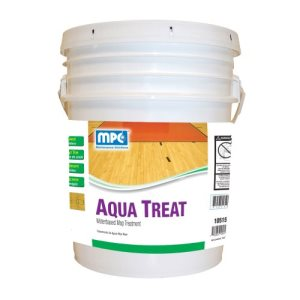 Misco Aquatreat Waterbased Mop Treatment, 5 Gallon Pail (AQT-05MN)