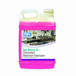 BIG BREAK CL Chlorinated Meatroom Degreaser, 2.5 Gallon Bottles, 2 per case (CHL-25MN)