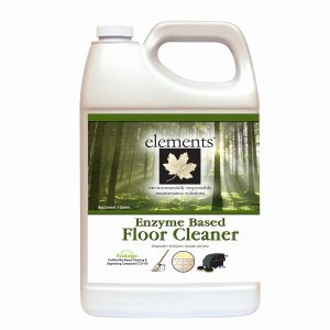 elements Enzyme Based Floor Cleaner, 2.5 Gallon Bottle, 2 Bottles (E19-25MN-001)