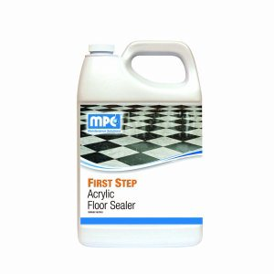 FIRST STEP Acrylic Floor Sealer, 1 Gallon Containers, 4 per case (FIR-14MN)