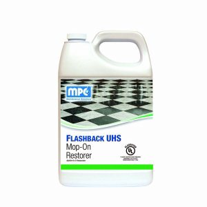 Flashback UHS Mop-On Restorer, 1 Gallon Containers, 4 per case (FLR-14MN)