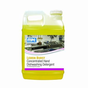 LEMON BURST Concentrated Hand Dishwashing Detergent, 5 Gallon Pail (LEM-05MN)
