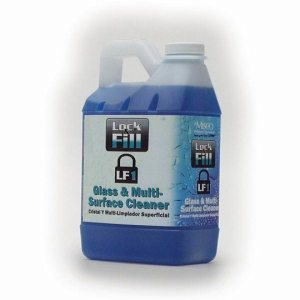 Glass & Multi-Surface Cleaner, 2 Half Gallons, Lock-N-Fill (LF1-.5MN)
