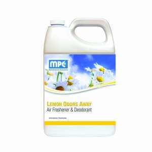 LEMON ODORS AWAY Air Freshener & Deodorant, 1 Gallon Containers, 4 per case (LOD-14MN)