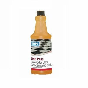 ONE PASS Low Odor Ultra Concentrated Floor Stripper, 12 Quarts (OPU-12MN)