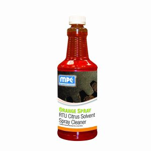 ORANGE SPRAY RTU Citrus Solvent Spray Cleaner, 12 - 32oz Bottles (OSP-12MN)