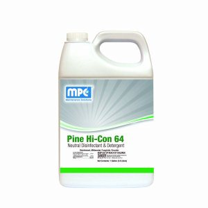 Pine HI-CON 64 Neutral Disinfectant and Detergent, 1 Gallon Bottle (P64-01MN)
