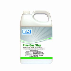 Pine ONE STEP Heavy Duty Cleaner & Disinfectant, 1 Gallon Bottle (POS-01MN)