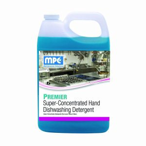 PREMIER Super-Concentrated Hand Dishwashing Detergent, 4 Gallons (PRM-14MN)