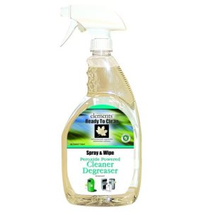 Elements Peroxide Powered Cleaner Degreaser, Ready to Clean 12/32oz Bottles (R01-12MN)