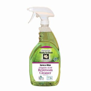 Elements Organic Acid Restroom Cleaner, 32 oz., 12 Bottles per Case (R03-12MN)