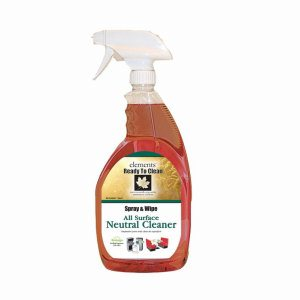Elements All Surface Spray Cleaner, 12 Spray Bottles (R07-12MN)