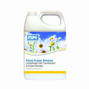 FRESH FLORAL REFRESH Concentrated Odor Counteractant & Smoke Eliminator, 1 Gallon Containers, 4 per case (REF-14MN)