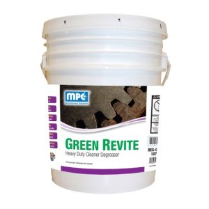 GREEN REVITE Heavy Duty Cleaner Degreaser, 5 Gallon Pail (REG-05MN)