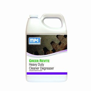 GREEN REVITE Heavy Duty Cleaner Degreaser, 4 - 1 Gallon Containers  (REG-14MN)