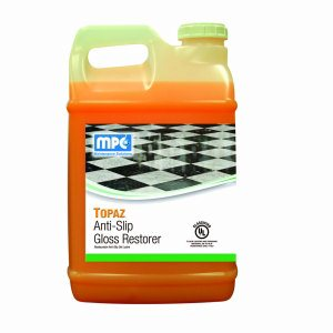TOPAZ Anti-Slip Gloss Restorer, 2.5 Gallon Bottles, 2 per case (TOP-25MN)