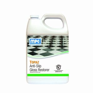 TOPAZ Anti-Slip Gloss Restorer, 1 Gallon Bottle (TOP-01MN)