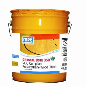 CRYSTAL COTE 350 Compliant Polyurethane Wood Finish, 5 Gallon Pail (U35-05MN)