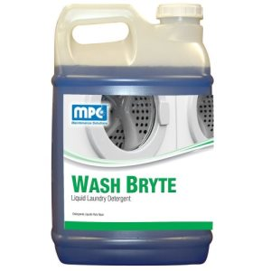 WASH BRYTE Liquid Laundry Detergent, 2 - 2.5 Gallon Bottles (WAS-25MN)