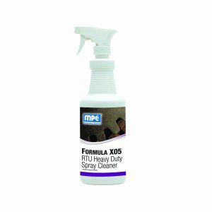 FORMULA X05 RTU Heavy Duty Spray Cleaner, 1 Quart Bottle (X05-1QMN)