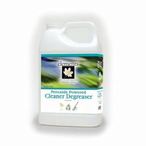 Elements Peroxide Powered Cleaner Degreaser, 1 Gallon Bottle (E01-01MN)