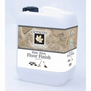 Elements Zinc Free Floor Finish, 2.5 Gallon Stackable Container (E08-25MN)