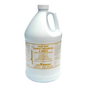 Namco Fast Dry Carpet Shampoo & Rinse, 4 - 1 Gallon Bottles (5001-1)