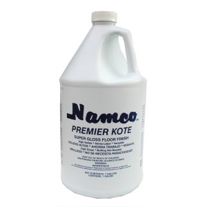 Namco Mfg Inc Premier Kote Floor Finish, 1 gal., Case of 4 (2030-1)