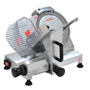 "Omcan 10"" Blade Belt Driven Slicer, 0.2HP, 110v, Each (19067)"