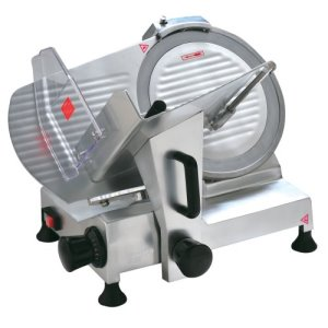"Omcan 12"" Blade Belt Driven Slicer, 0.33HP Motor, 110v, 1 Each (19068)"