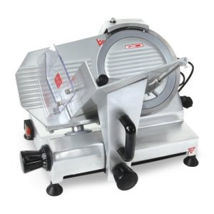 "Omcan Belt Driven Slicer, 0.2HP, 9"" Blade, 110v, Each (21629)"