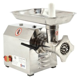 Omcan #12 Stainless Steel Meat Grinder, .87HP, 110v  (23580)