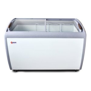 Omcan Ice Cream Display Freezer/Novelty Case, 12.8 Cu.Ft (27941)