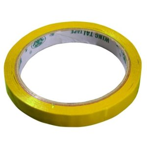 Omcan Products 9MM Wide Yellow Poly Bag Sealer Tape, 16 Rolls (31352)