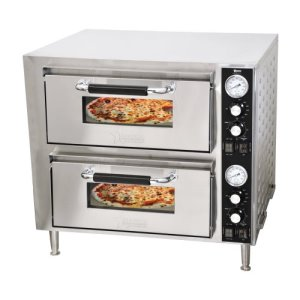 Countertop Double Quartz Pizza Oven 3200w 240v (39580)